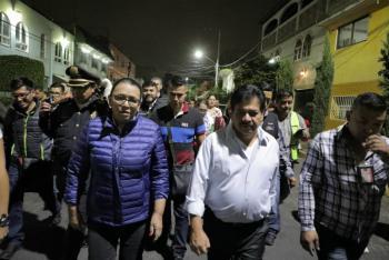 Gobierno de la Ciudad de México realiza por segunda ocasión Tequio Nocturno en la colonia San Felipe de Jesús