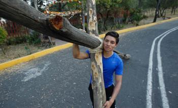 Alumno del IPN interpretará a Jesucristo en Iztapalapa
