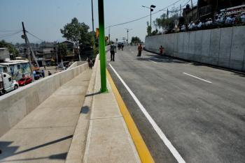 Gobierno de la Ciudad de México reabre la Carretera Xochimilco Tulyehualco