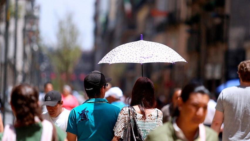 Emiten Alerta Amarilla por pronóstico de altas temperaturas en nueve Alcaldías de la Ciudad de México