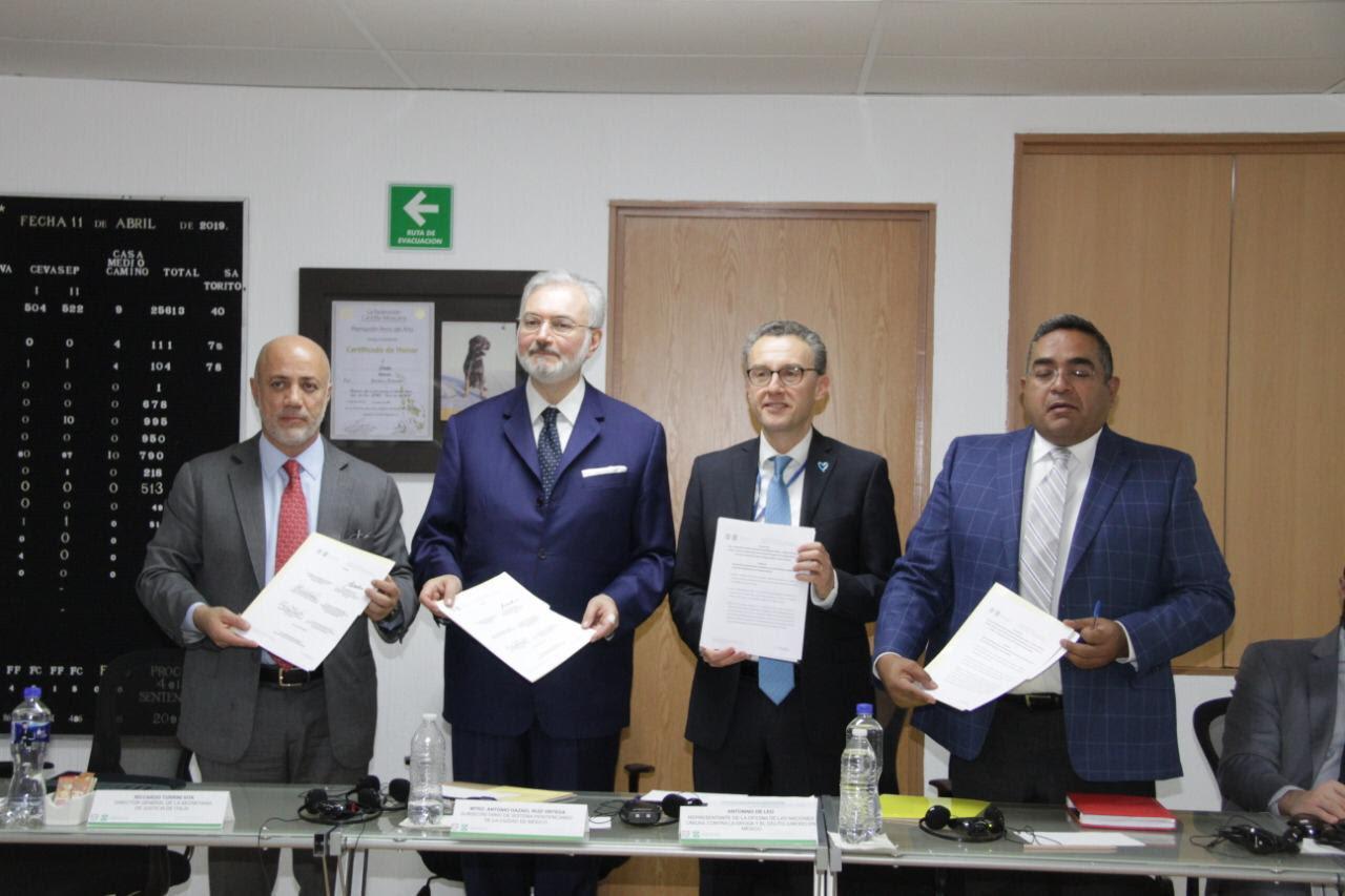 Gobierno de la Ciudad de México firma acuerdo en materia de reinserción laboral basado en la experiencia italiana