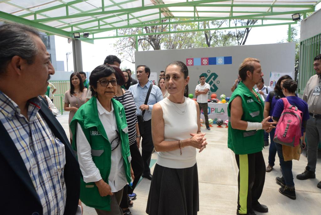 Anuncia la Jefa de Gobierno entrega de Becas para Jóvenes que estudien en PILARES