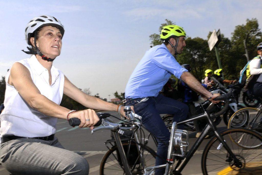 Anuncia el Gobierno de la Ciudad de México inversión récord de 271 millones de pesos para la infraestructura ciclista