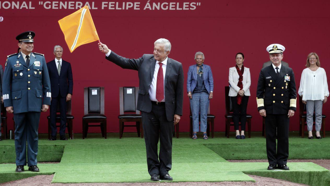 Asiste Jefa de Gobierno al banderazo de estudios y trabajos preliminares para la construcción del Aeropuerto Internacional en Santa Lucía