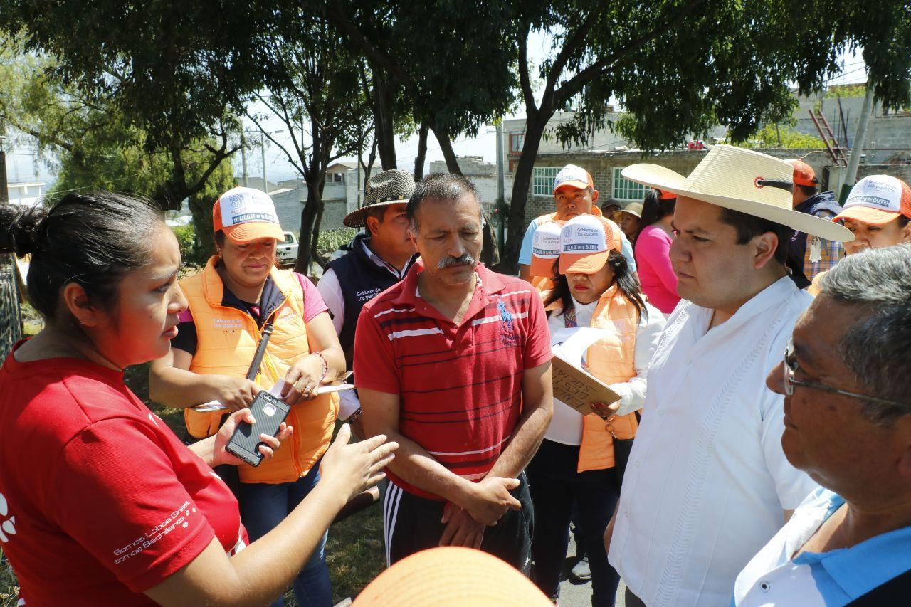 Mejora Alcalde en tu barrio entorno urbano en San Jerónimo Miacatlán