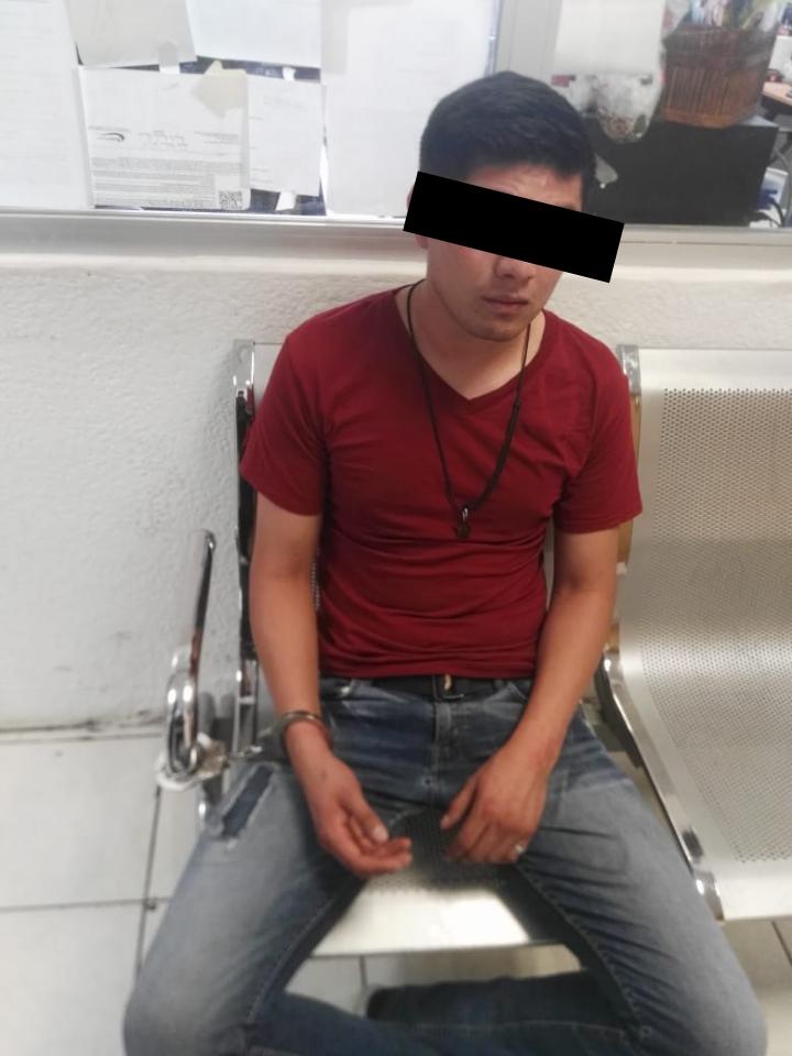 SSC detiene a un implicado por presunto robo a transeúnte en la Alcaldía Benito Juárez