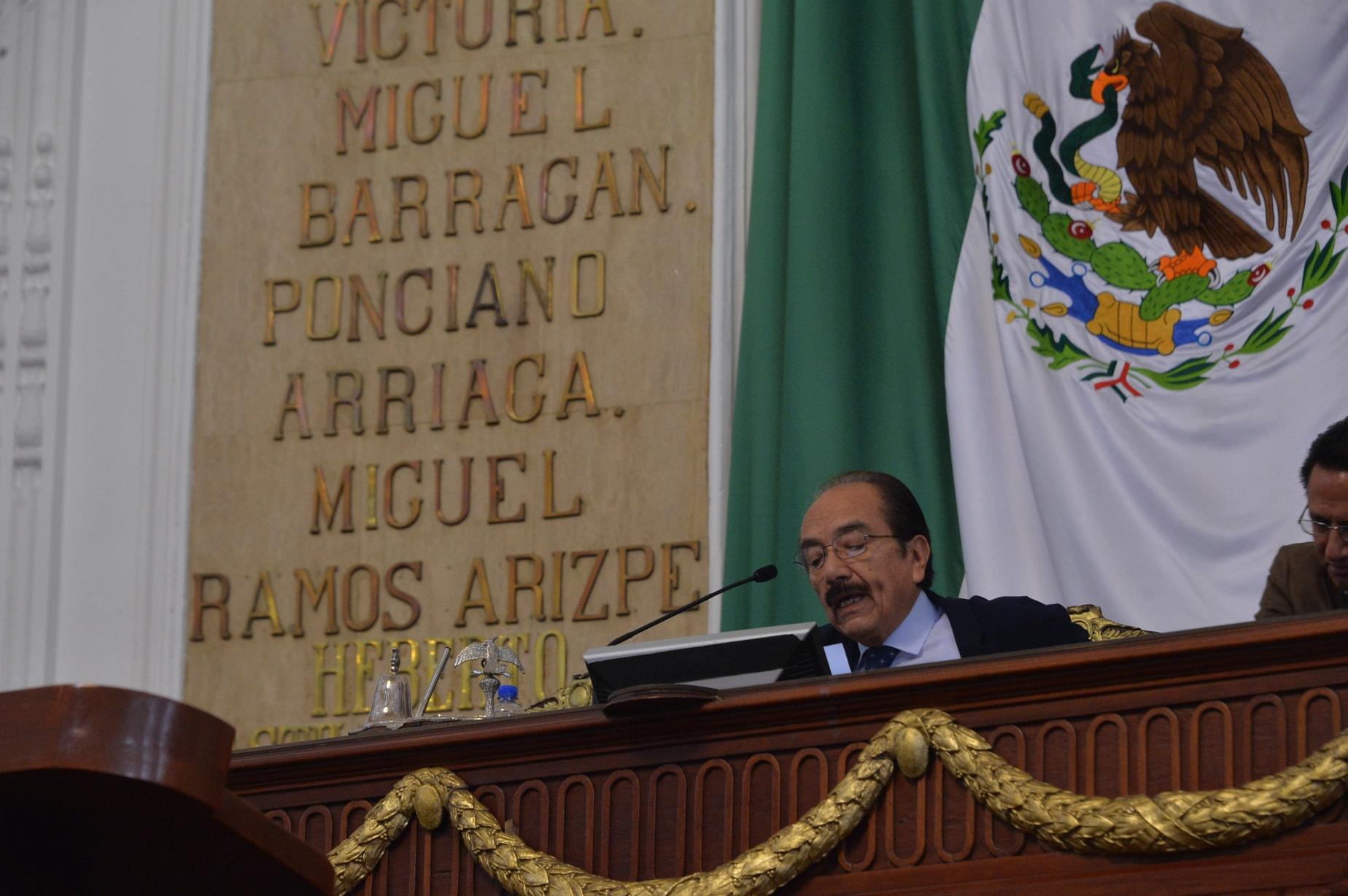 El Congreso Capitalino inscribirá en letras de oro la Leyenda Mártires del 10 de junio de 1971 en el Muro de Honor de Donceles
