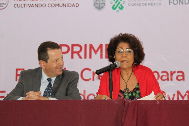Gobierno de la CDMX y Tlalpan realizan Primera Feria de Créditos para Emprendedores y MIPyMES
