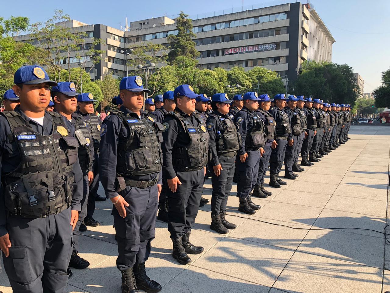 Presenta Gobierno de la CDMX estrategia de Microcuadrantes para reforzar la seguridad en el Centro Histórico