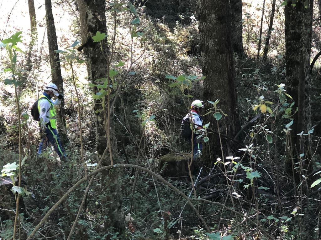 Socorristas del ERUM participan en búsqueda de mujer extraviada en el Iztaccíhuatl