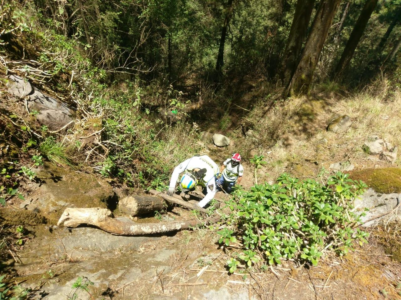Equipo especial del ERUM de la SSC continúa con la búsqueda de la mujer extraviada en el Iztaccíhuatl