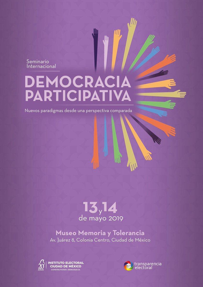 Organiza IECM seminario internacional para intercambiar experiencias sobre Democracia Directa y Presupuesto Participativo