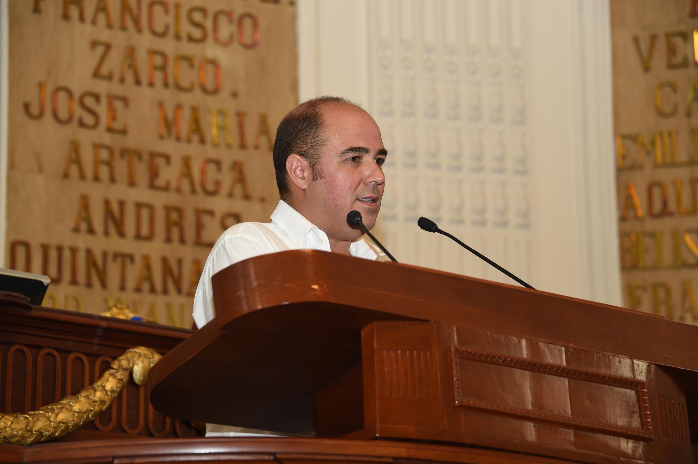 Piden diputados locales rescatar monumento histórico Pensil Mexicano