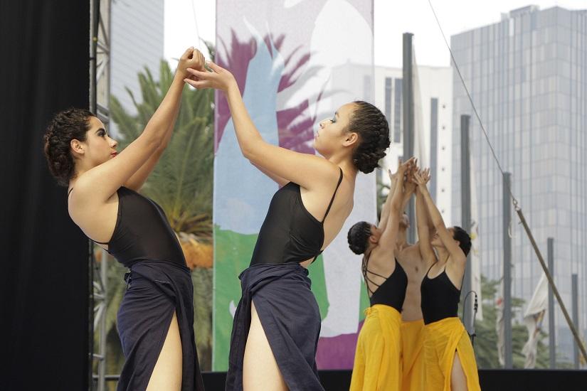 Alumnos del INBAL participaron en la clausura del Festival del Cuerpo en Movimiento