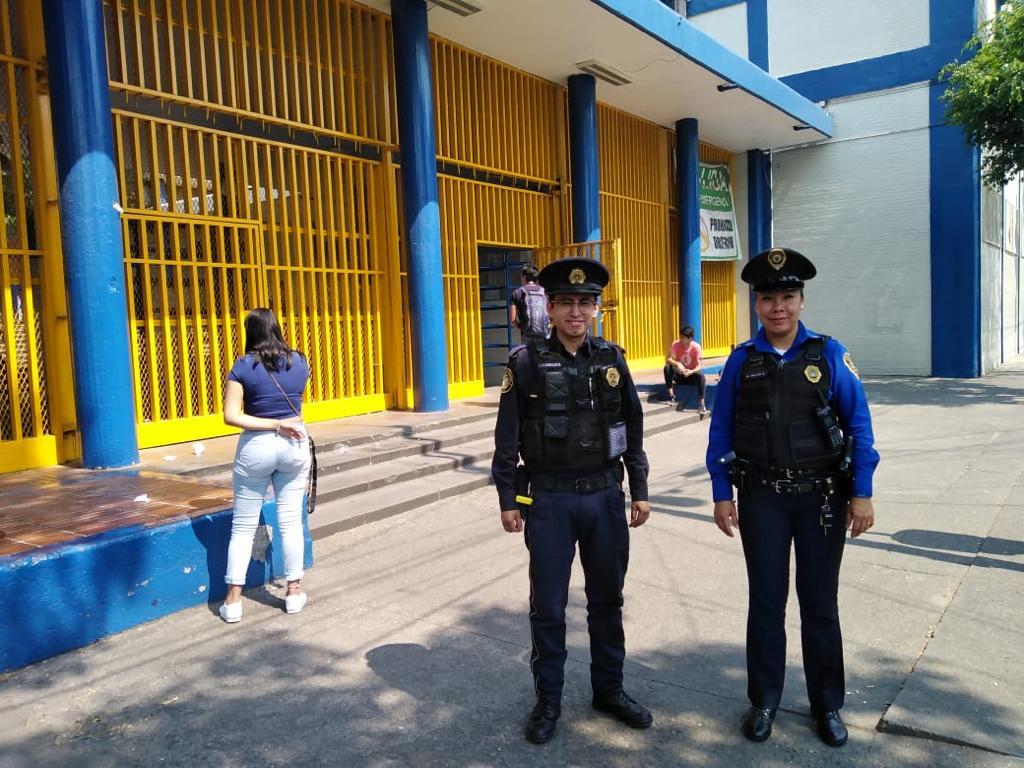 SSC realiza pláticas y acciones de seguridad en diferentes planteles escolares