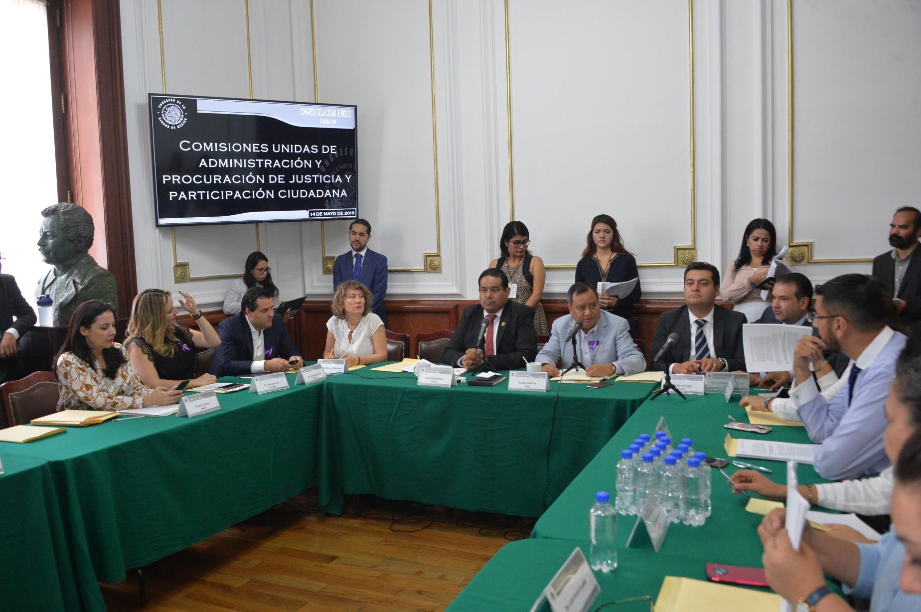 Aprueban en comisiones el dictamen de la nueva Ley de Cultura Cívica