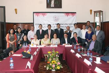 Tlalpan instala Consejo de Prevención Social del Delito y la Violencia