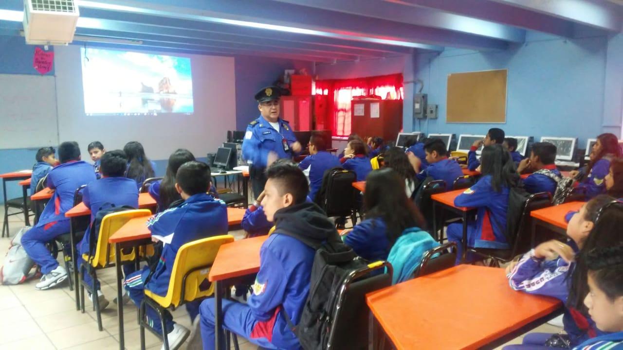 SSC realiza pláticas informativas en Escuelas Secundarias de la GAM y Tláhuac