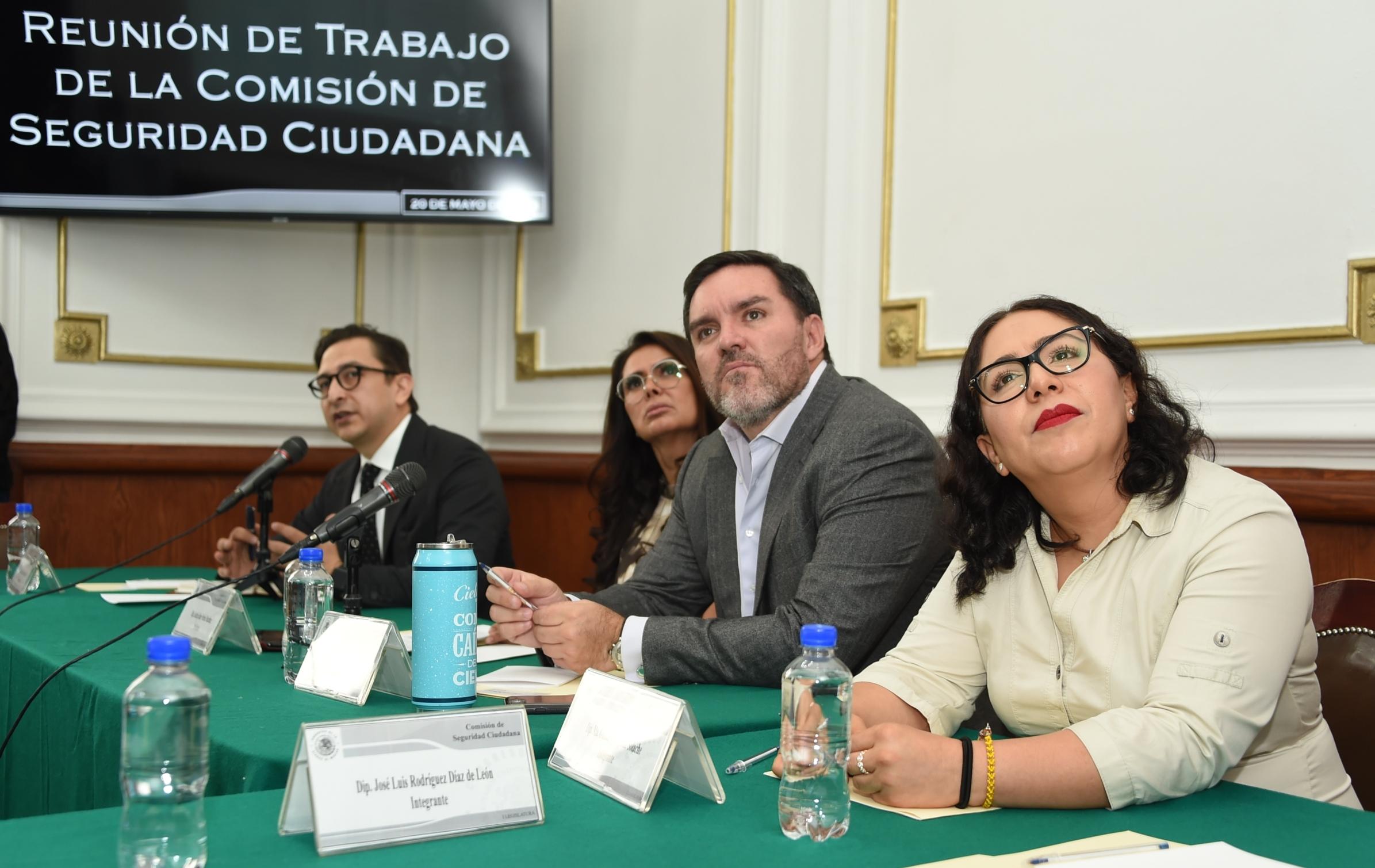 El Congreso capitalino estudia firma de convenio de colaboración con la ONU en materia de seguridad