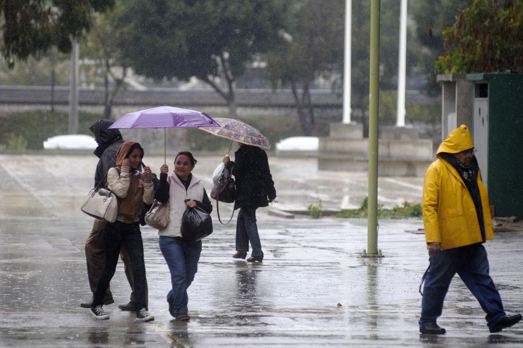 Lluvias y altas temperaturas en la mayor parte del país