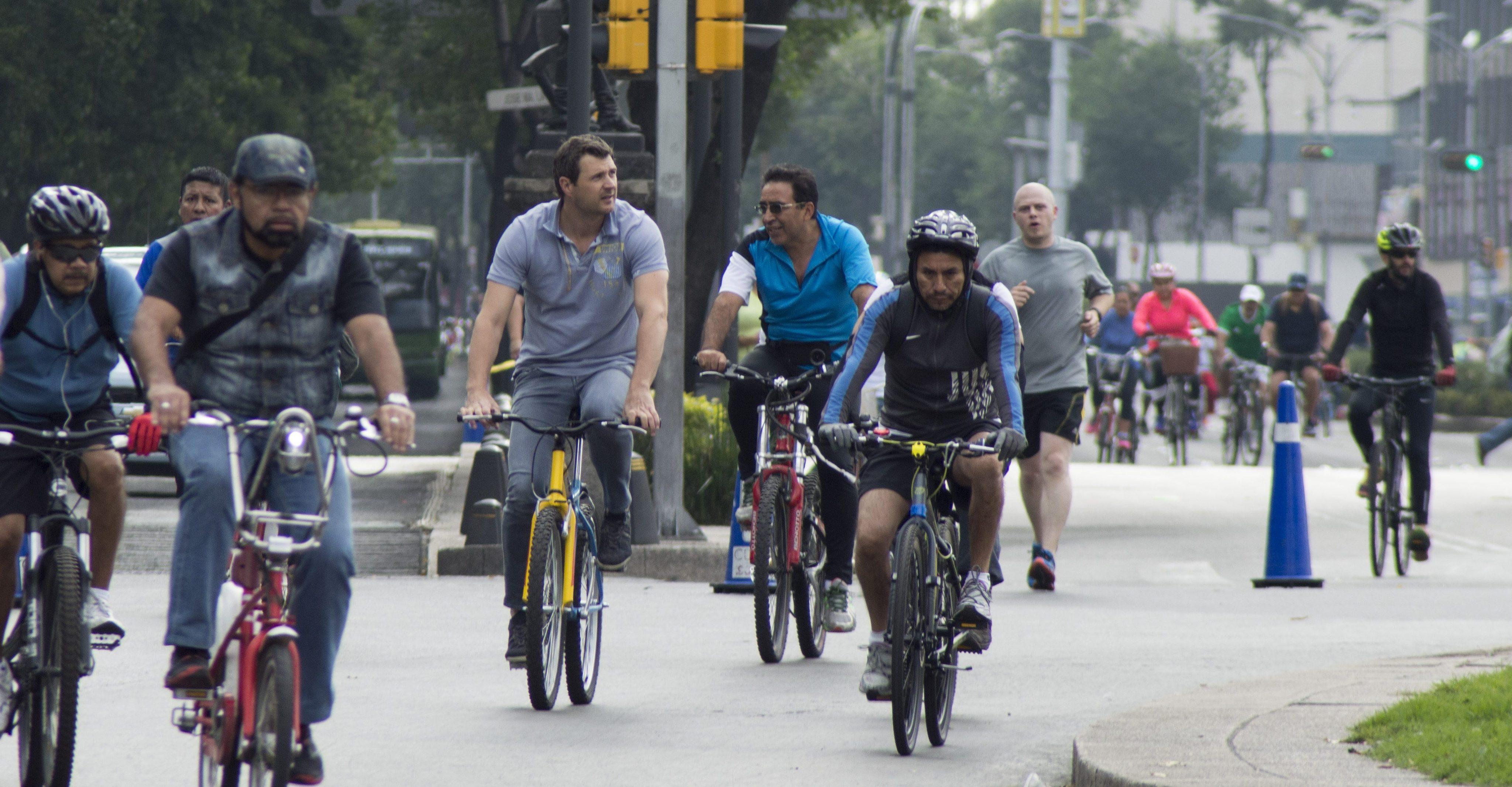 Los Ciclistas de la CDMX tendrán en el Centro Histórico una movilidad segura