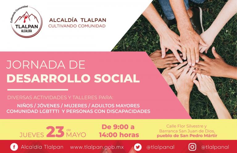 Tlalpan realizará Jornada de Desarrollo Social