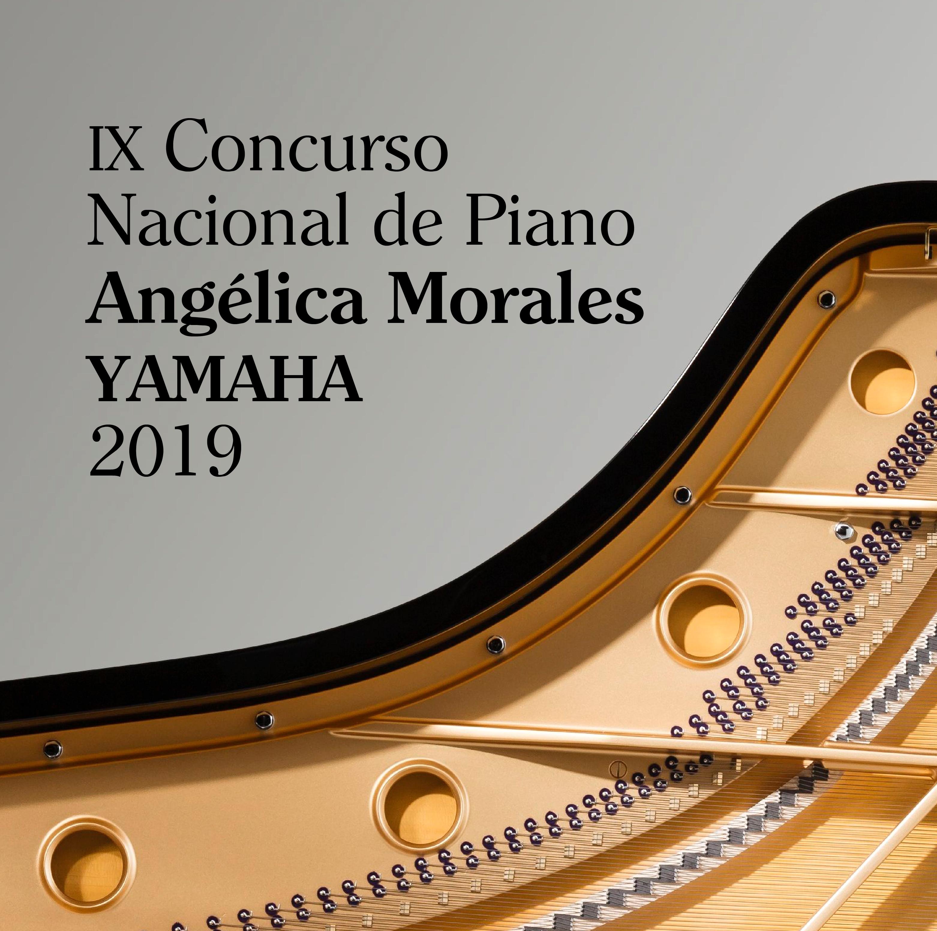 Cuatro competidores en la final del Concurso Nacional de Piano Angélica Morales Yamaha