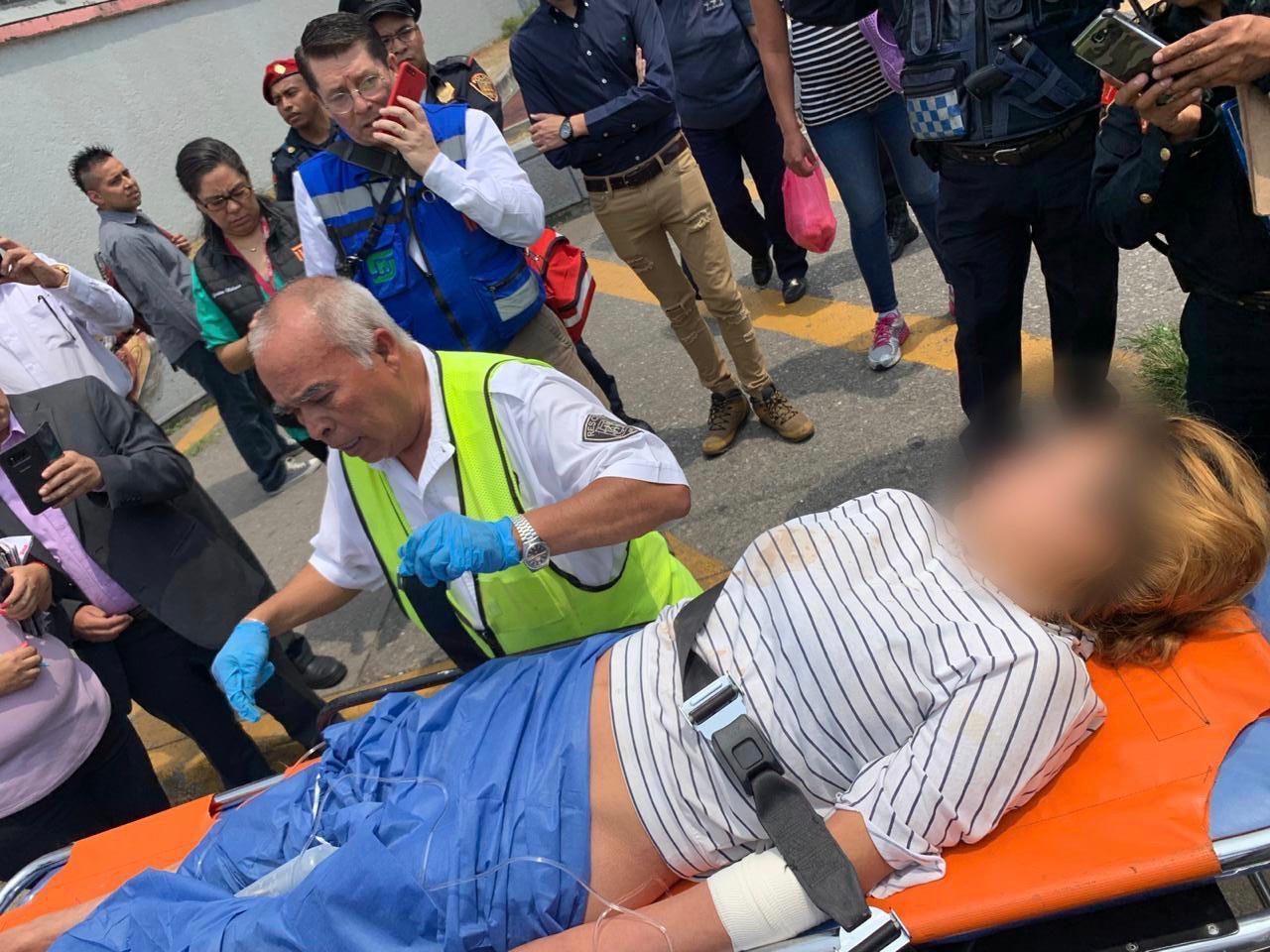 Atiende SSC y STC nacimiento de un bebé en la estación Chabacano del Metro