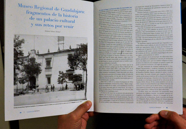 Gaceta de Museos se suma a festejo por 100 años del Museo Regional de Guadalajara