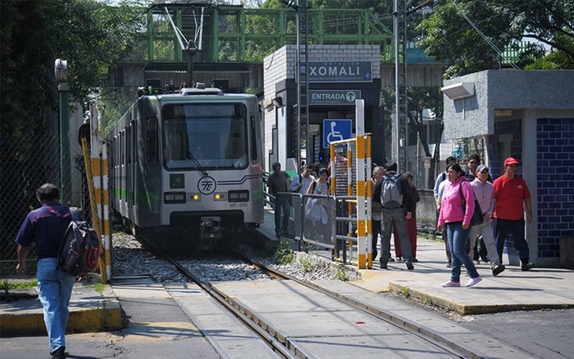 Anuncia Gobierno de la CDMX obras de rehabilitación para vías del Tren Ligero