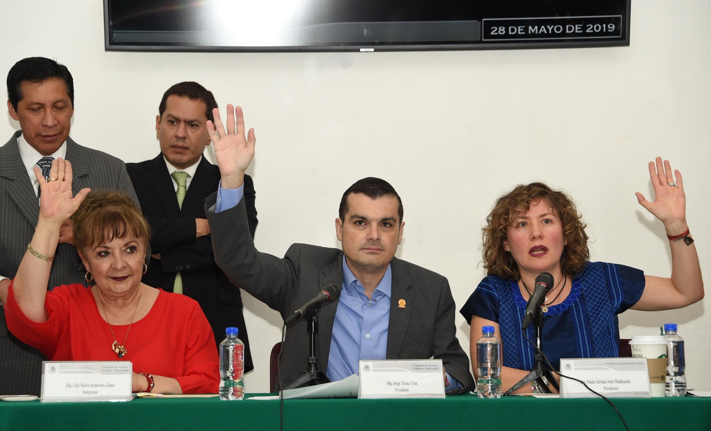 Avalan comisiones legislativas iniciativas de reformas a nivel federal para prevenir y sancionar la violencia política de género