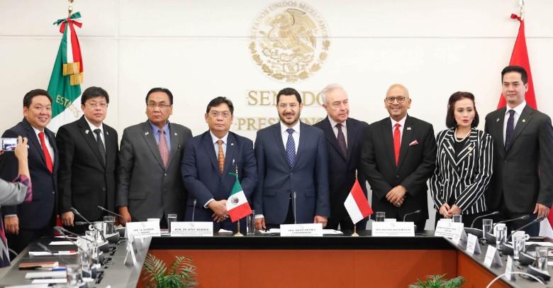 Impulsarán México e Indonesia el multilateralismo en foros internacionales