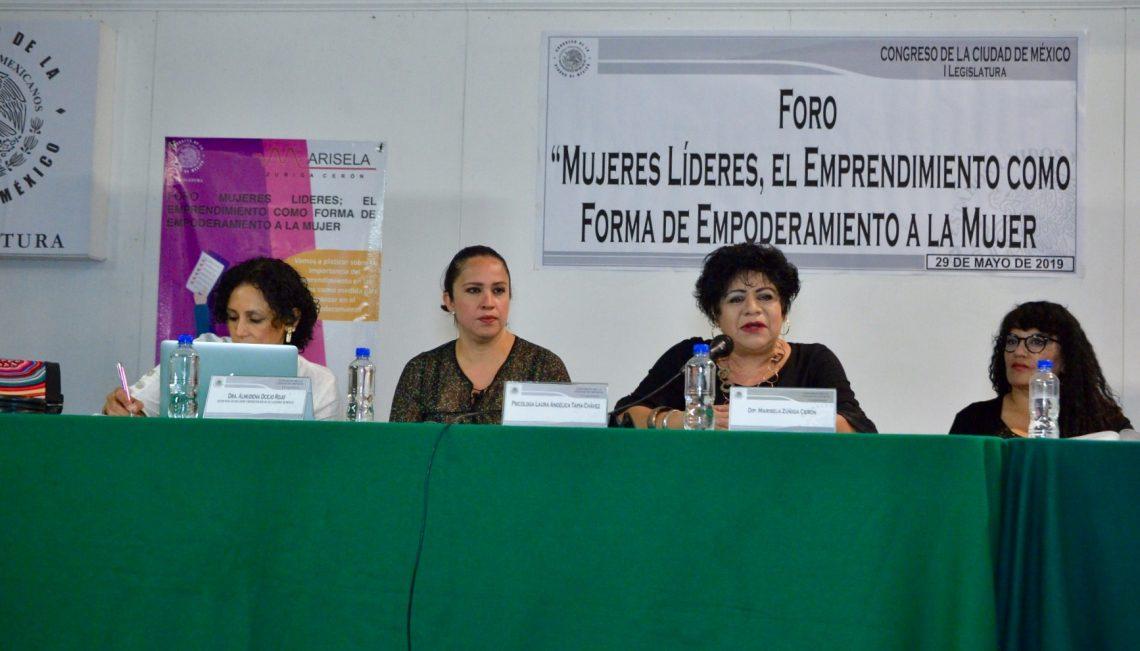 El Congreso capitalino impulsará programas de inclusión laboral para mujeres emprendedoras