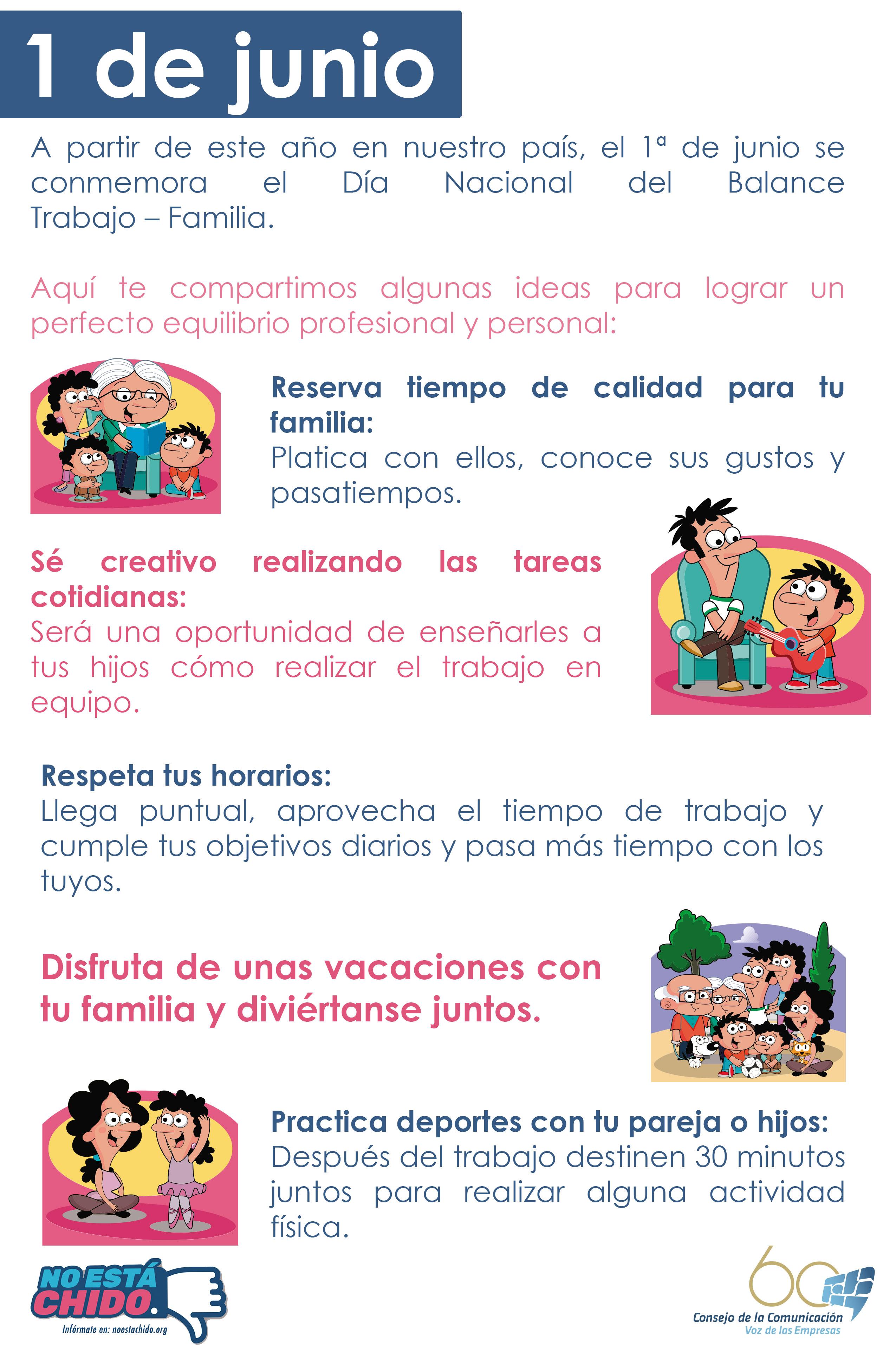 Niños y niñas los más beneficiados por el decreto del Día Nacional del Balance Trabajo Familia