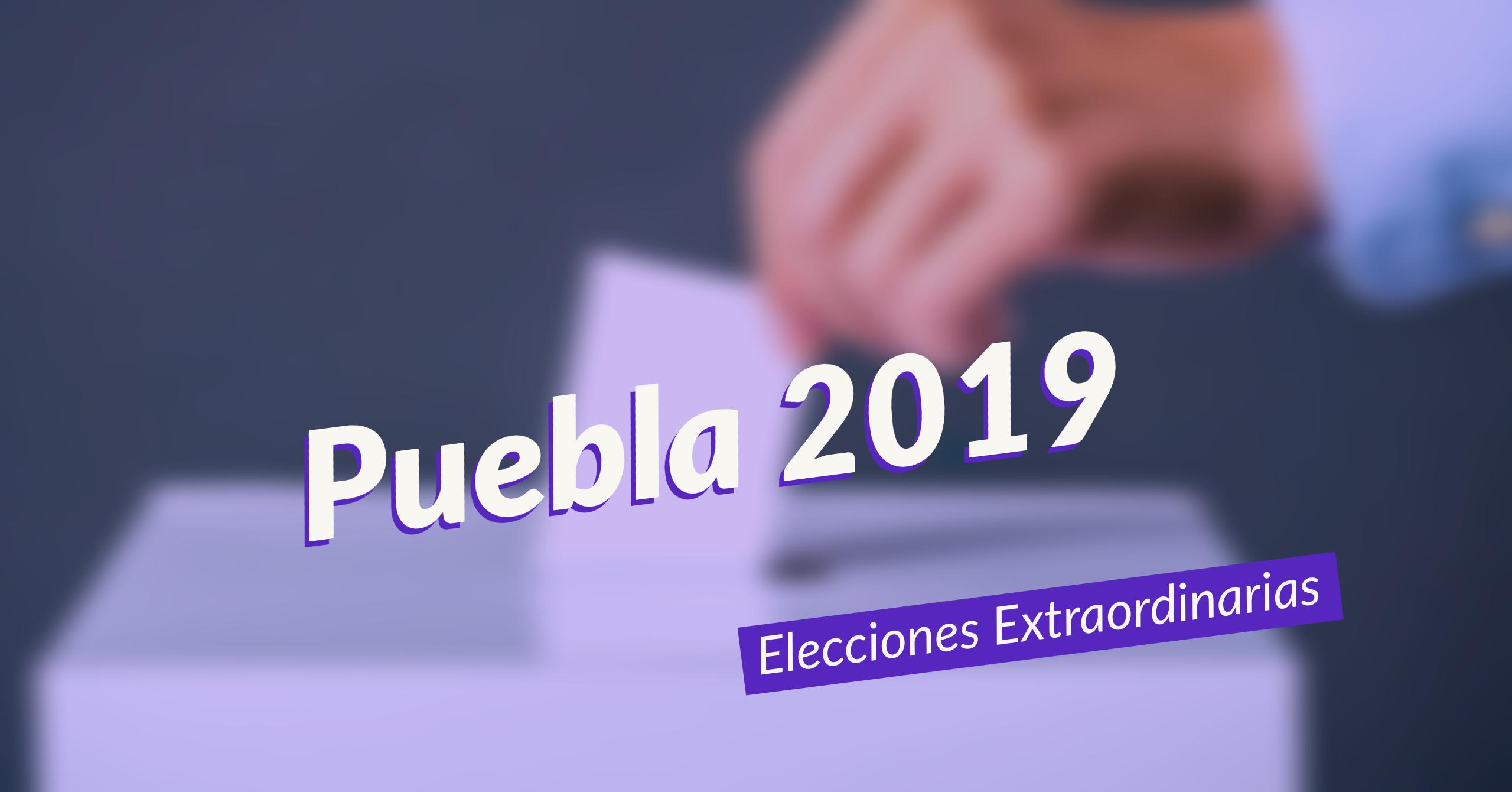 Sigue los resultados de la elección en Puebla
