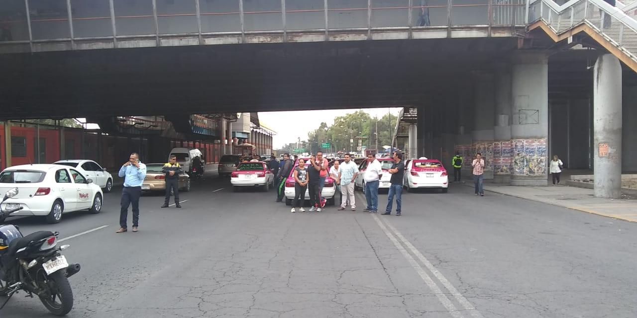 SSC reporta saldo blanco en dispositivo de Seguridad y Vialidad ante movilización de Taxistas en la Ciudad