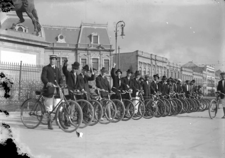 La bicicleta en la historia de la CDMX