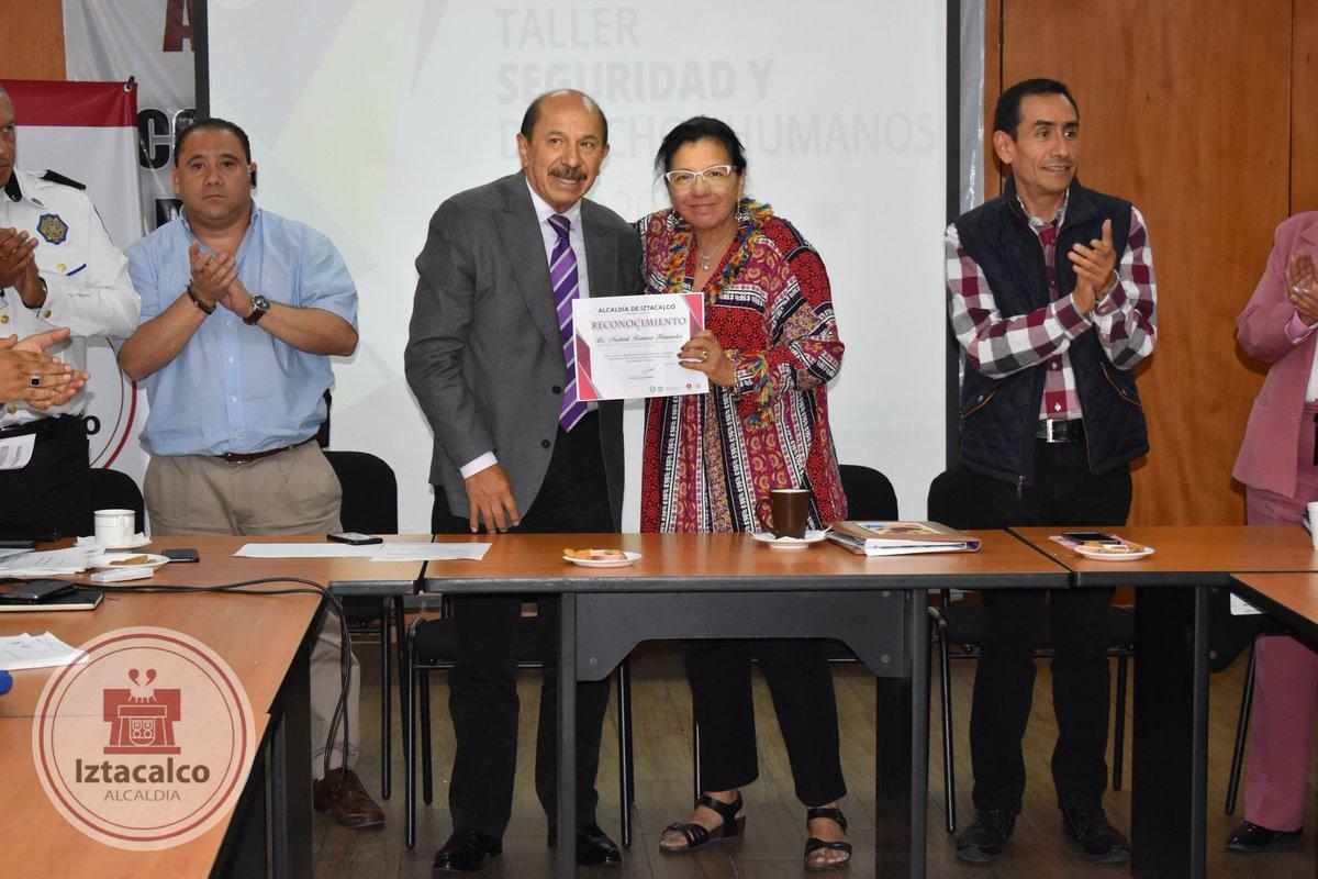 Se imparte el Curso Taller de Seguridad y Derechos Humanos para mejorar el actuar de la policía en Iztacalco