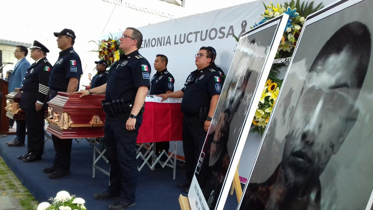 Reafirma SSC compromiso de investigar consecuencias en todos los casos de Policías Muertos en cumplimiento de su deber