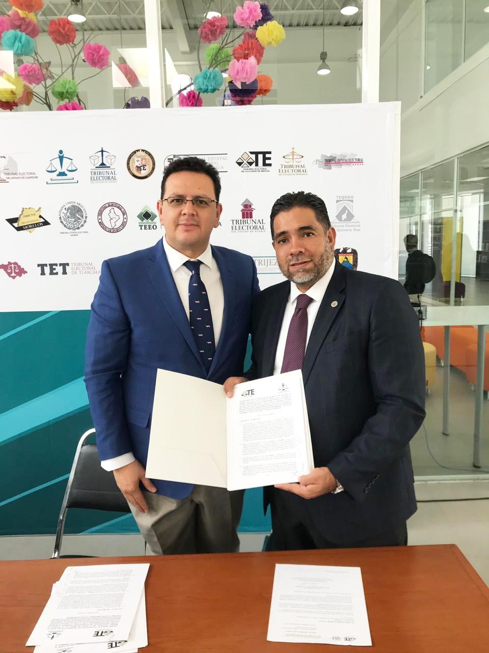 Amplía TECDMX alianzas de colaboración con Tribunales Electorales Locales