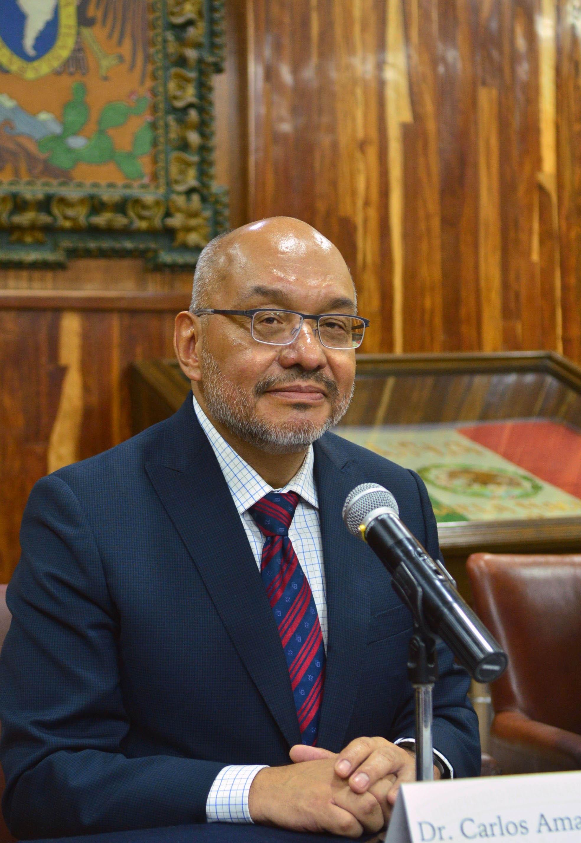 Asume Carlos Amador Bedolla la Dirección de la Facultad de Química de la UNAM