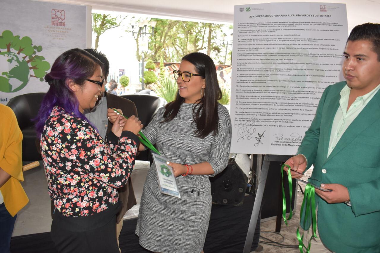 20 compromisos para una Alcaldía verde y sustentable