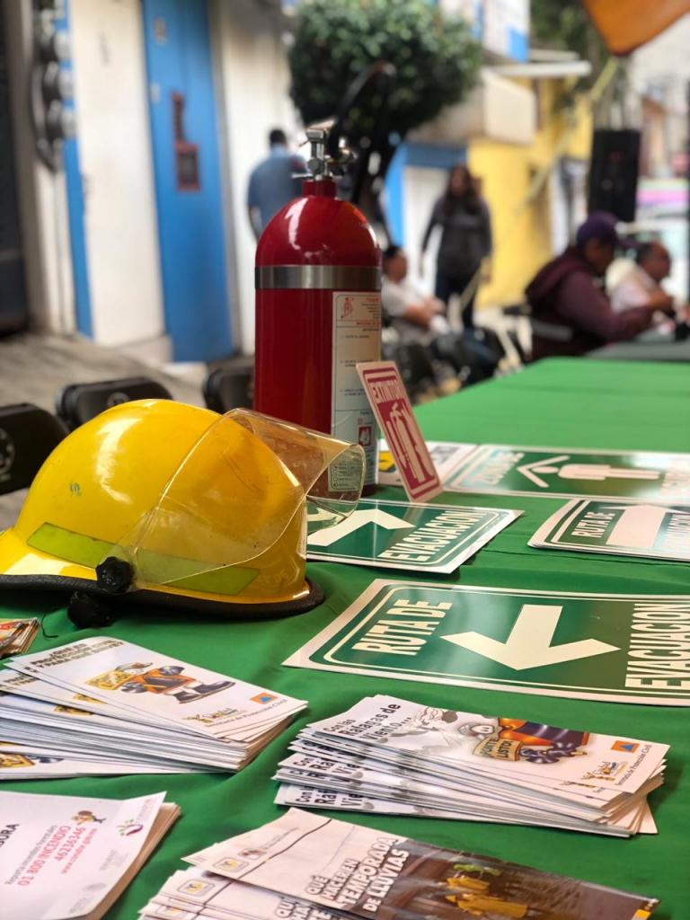 Tlalpan realiza Feria de Prevención del Delito en Ejidos de San Pedro Mártir