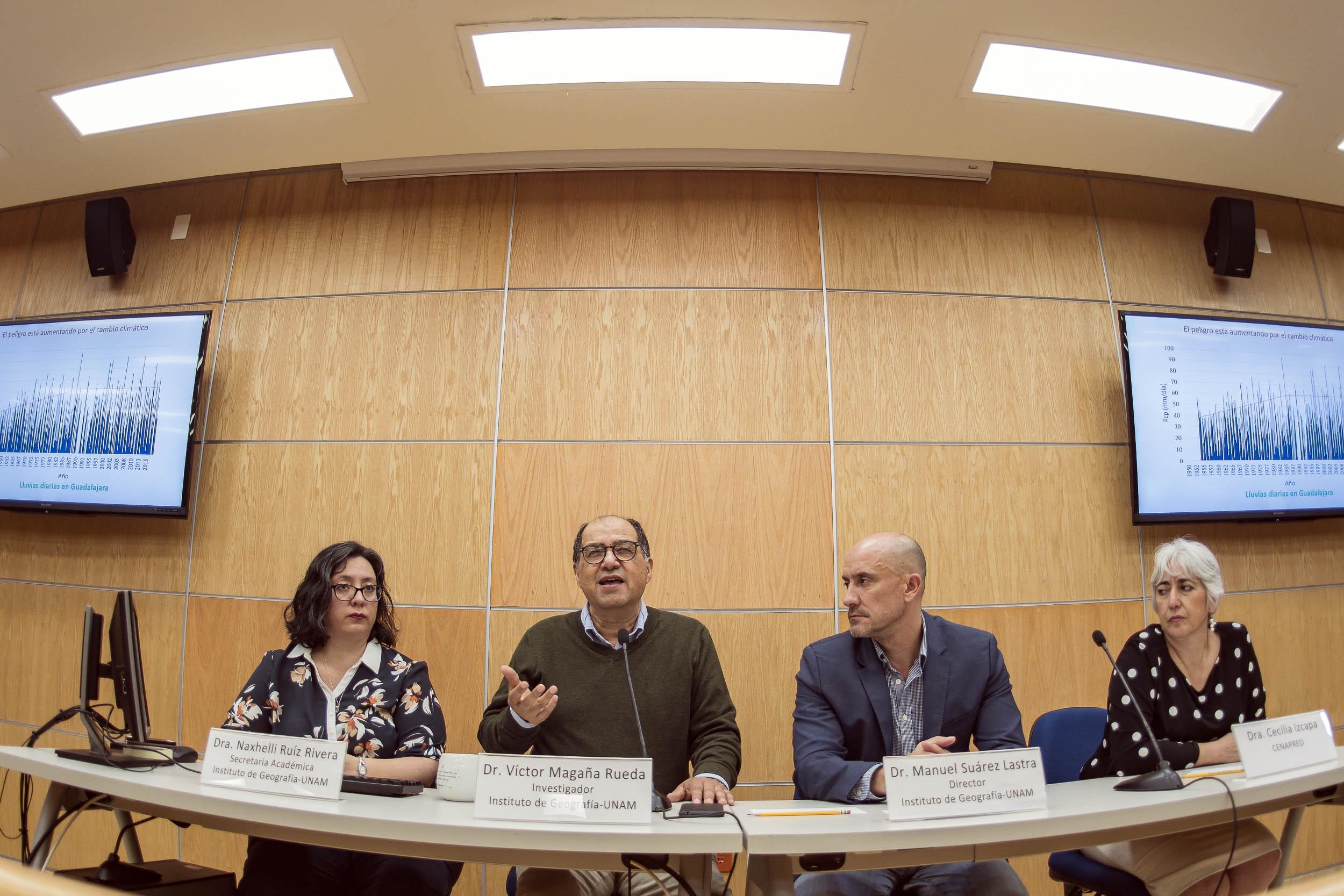 Crea la UNAM método Innovador para realizar Atlas de Riesgos Metropolitanos