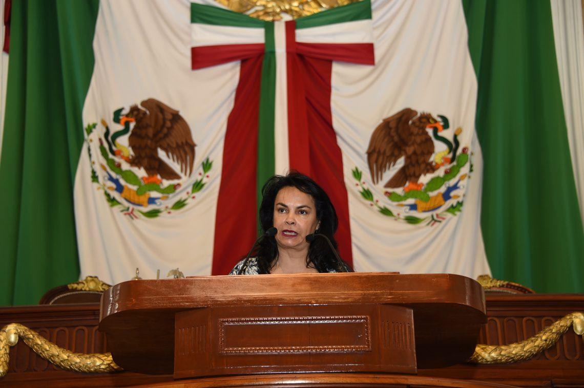 Diputada del PAN pide al Presidente de la República reconsiderar la disminución de presupuesto al programa de los becarios del sector salud