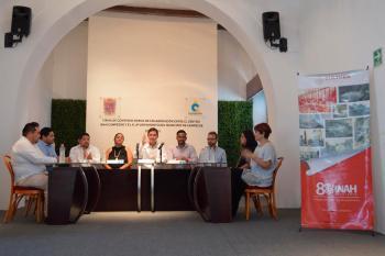 INAH y Ayuntamiento de Campeche firman convenio en favor del patrimonio cultural de esa ciudad