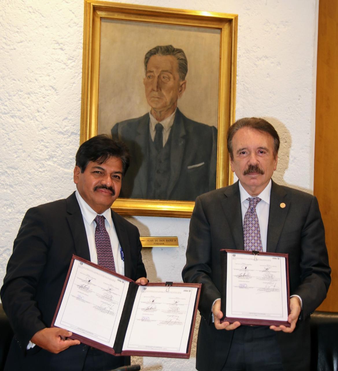 La Alcaldía GAM Firma Convenio con el Instituto Politécnico Nacional