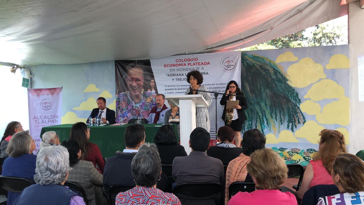 Tlalpan realiza coloquio Economía Plateada para la Reinserción