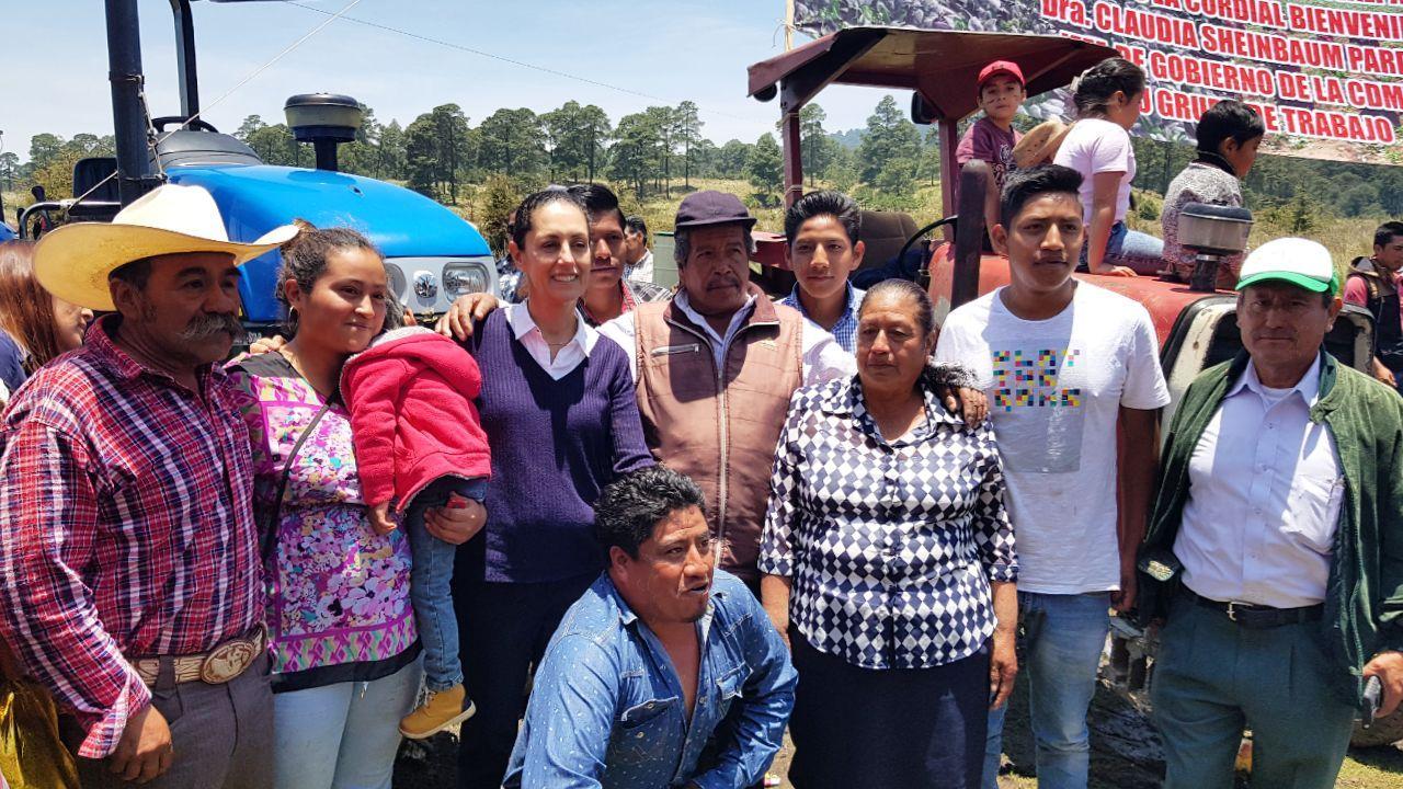 Firma gobierno capitalino convenios de apoyo para el suelo de conservación en Tlalpan