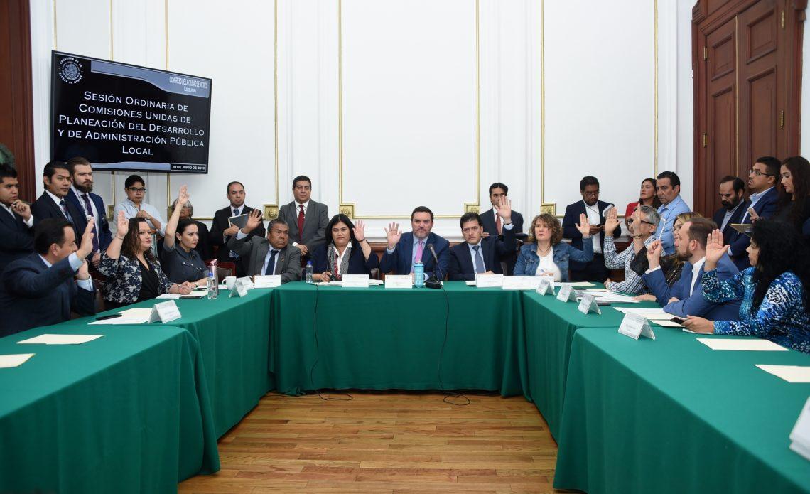 El Congreso capitalino aprobó convocatoria para recibir propuestas ciudadanas a la Ley de Planeación de la Ciudad de México